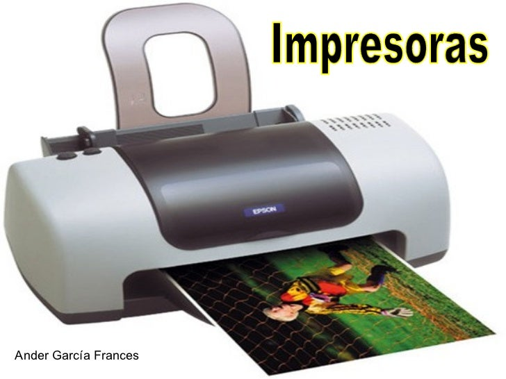 Impresoras Ander García Frances