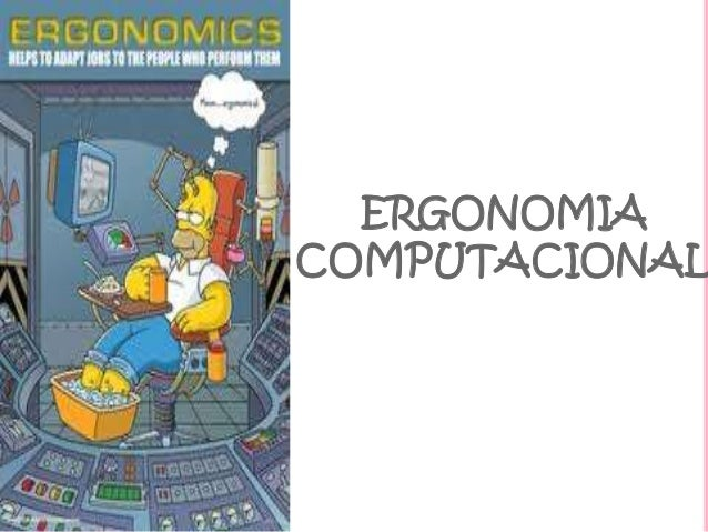 ERGONOMIA COMPUTACIONAL