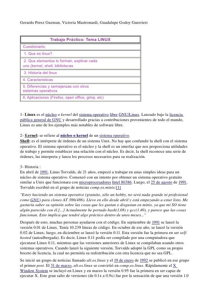 GerardoPerezGuzman,VictoriaMastronardi,GuadalupeGodoyGuerrieri                  Trabajo Práctico: Tema LINUX Cuesti...