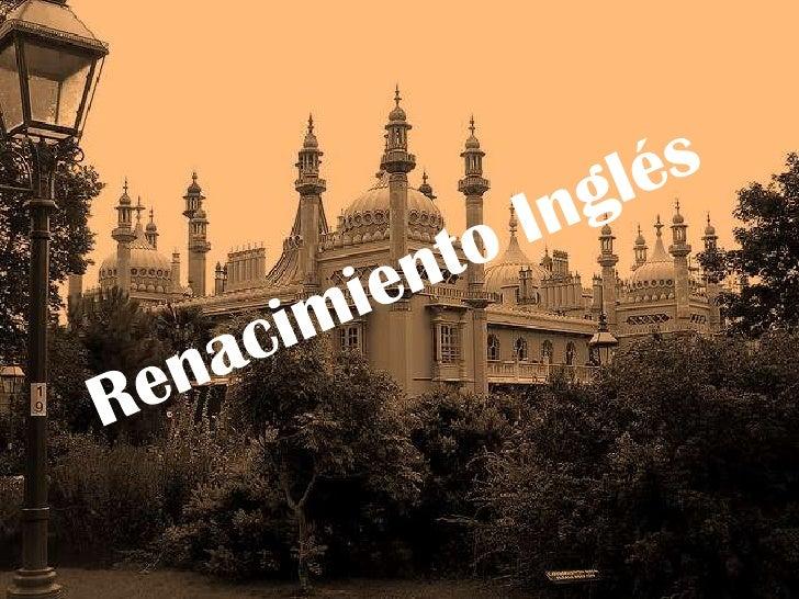 Renacimiento inglés: Shakespeare. Trabajo de Marta Fernández