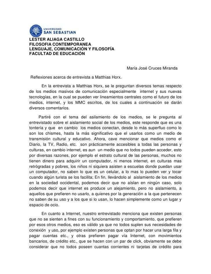 LESTER ALIAGA CASTILLO<br />FILOSOFIA CONTEMPORANEA<br />LENGUAJE, COMUNICACIÓN Y FILOSOFÍA<br />FACULTAD DE EDUCACIÓN<br ...