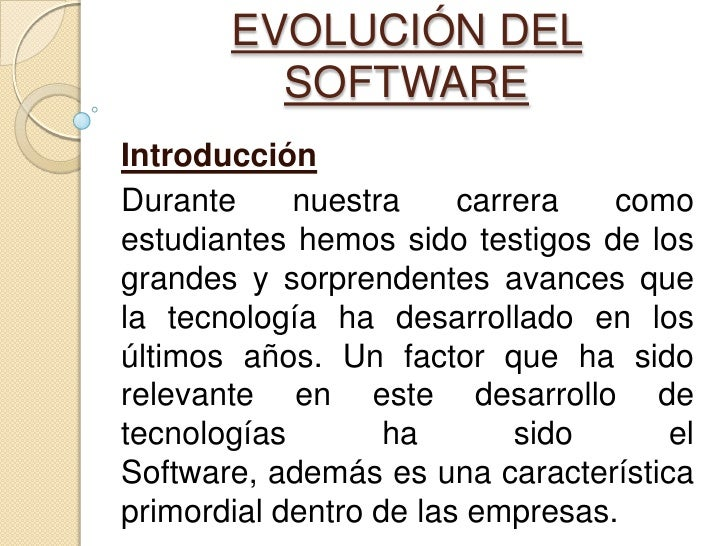 Ing del Software part1