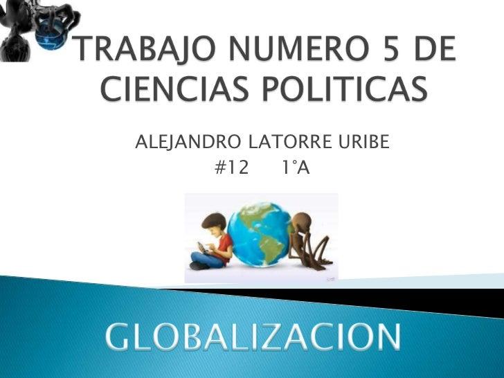 Trabajo numero 5 de ciencias politicas