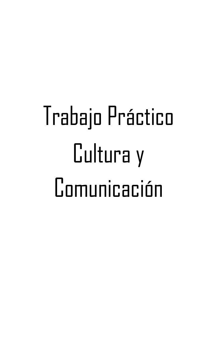Trabajo Práctico<br />Cultura y Comunicación<br />Tema: <br />La Moda<br />Integrantes<br />Sofía Bonacina<br />Agostina C...