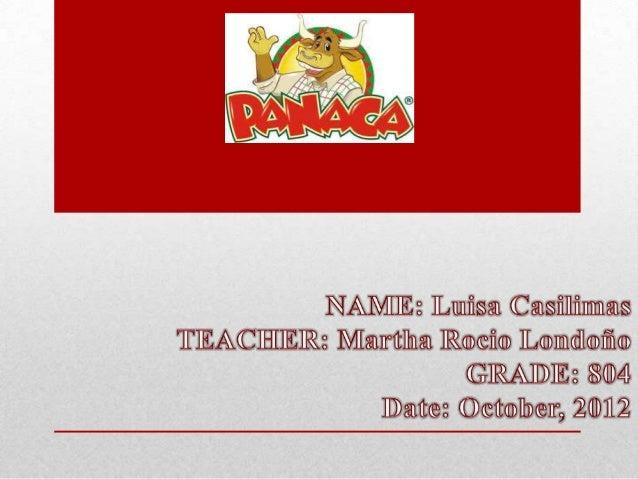 Panaca's Homework