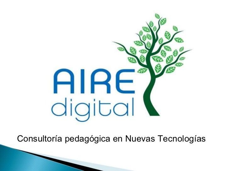 Consultoría pedagógica en Nuevas Tecnologías