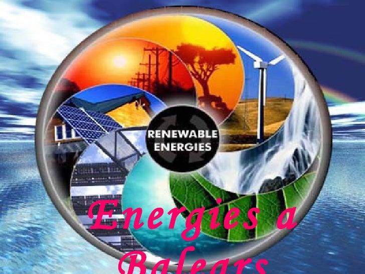 Energies a Balears