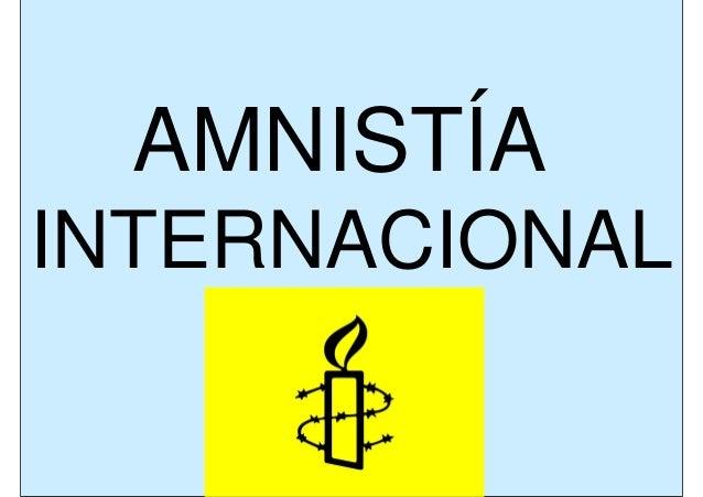 (Trabajo paz  amnistía internacional - rosalía quinteiro)