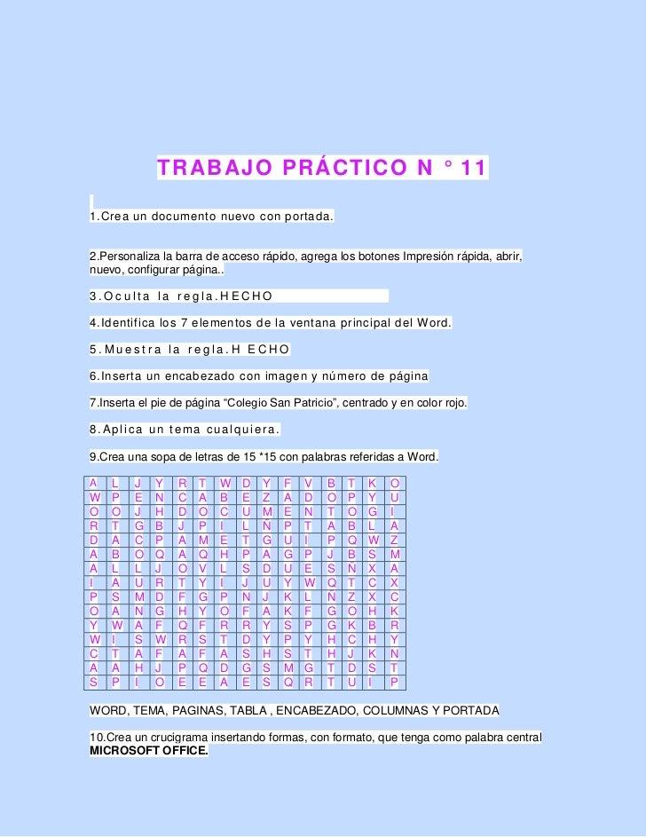 Trabajo practico 11