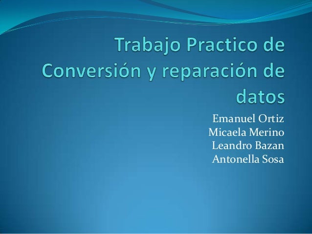 Emanuel Ortiz Micaela Merino Leandro Bazan Antonella Sosa