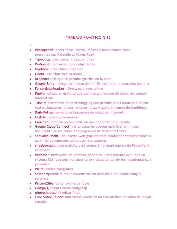 Trabajo practico n 11
