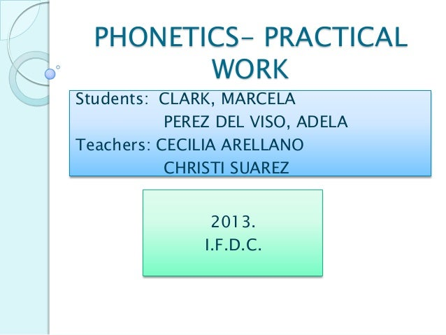 A Phonetic Project. Dimpy and his friends.