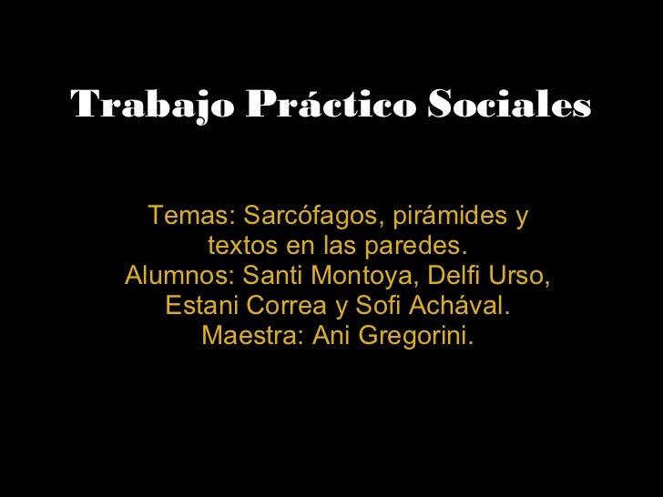 Trabajo practico sociales