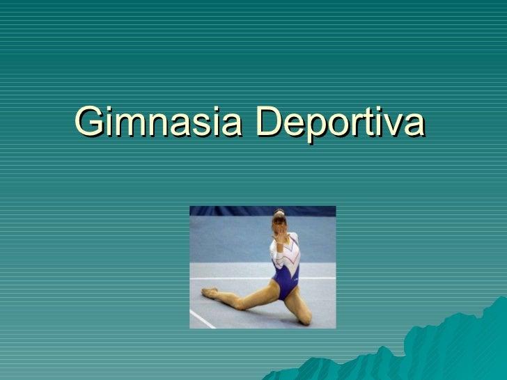 gimnasia modalidades: