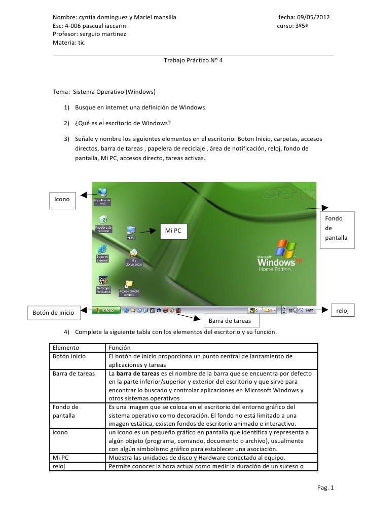 Nombre: cyntia dominguez y Mariel mansilla                                           fecha: 09/05/2012       Esc: 4-006 pa...