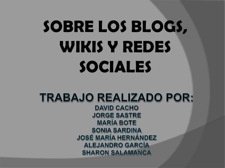blog,redessocialesywiki