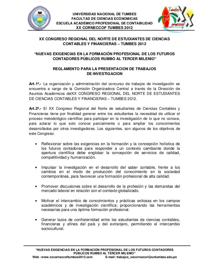 UNIVERSIDAD NACIONAL DE TUMBES                      FACULTAD DE CIENCIAS ECÓNOMICAS               ESCUELA ACADÉMICO PROFES...