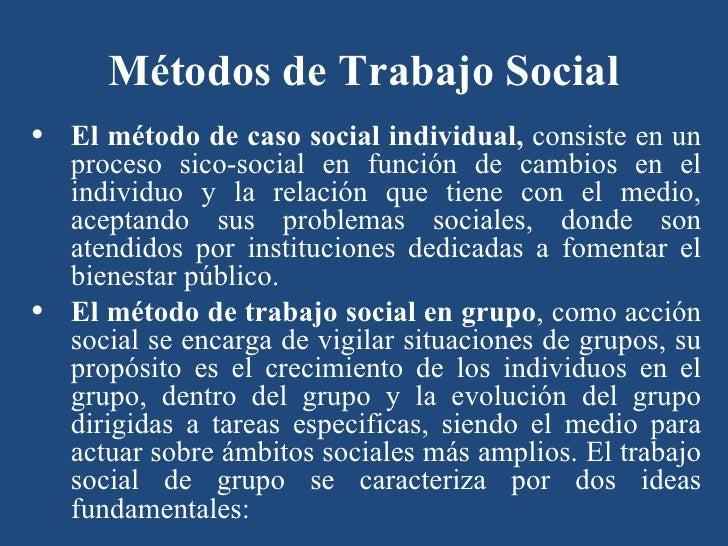 Trabajo social - Casos practicos trabajo social ...