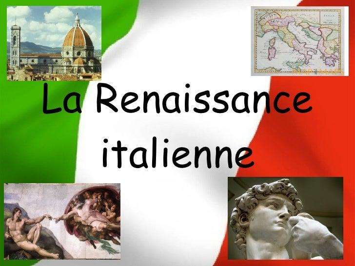 La Renaissance   italienne
