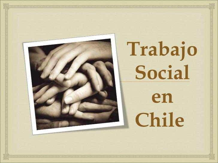 Trabajo Social en Chile
