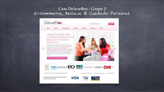 Caso DeluxeBox - Grupo 2! E-commerce, Belleza & Cuidado Personal
