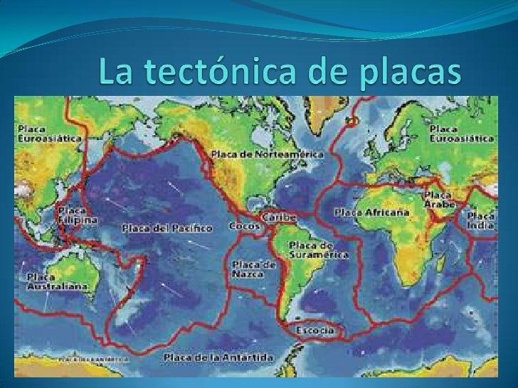  La tectónica de placas es una teoría geológica que explica la forma en que está estructurada la litósfera (la porción ex...