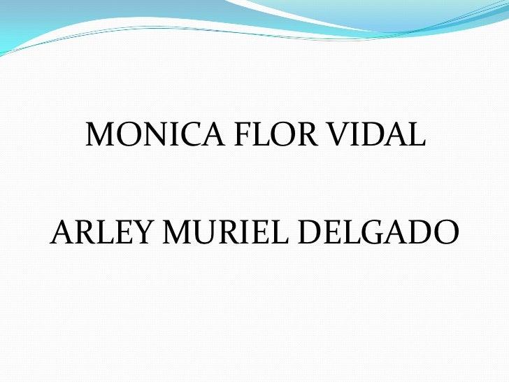 MONICA FLOR VIDALARLEY MURIEL DELGADO