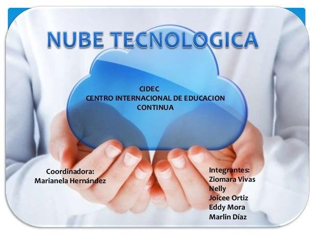 CIDEC             CENTRO INTERNACIONAL DE EDUCACION                         CONTINUA  Coordinadora:                       ...