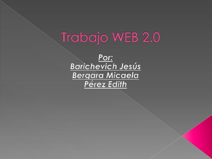 Trabajo web 2