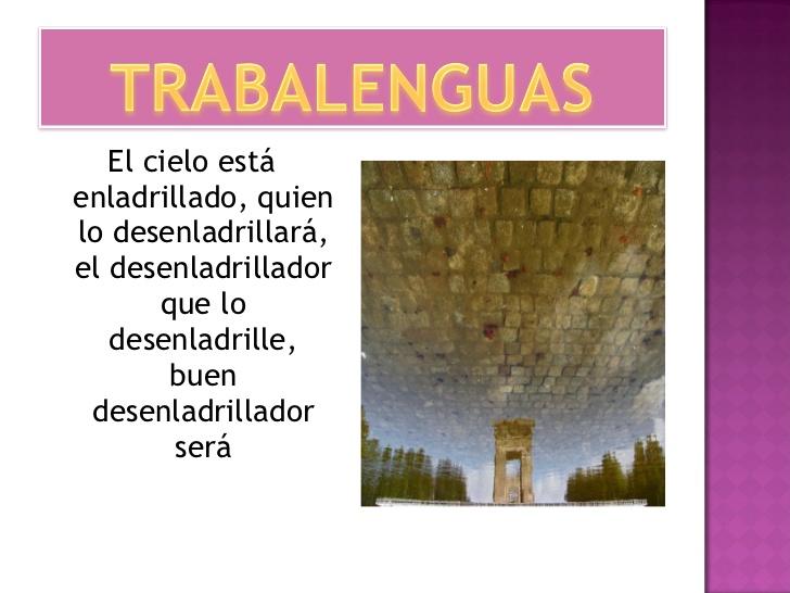 El blog de 6º A (2014/15): TRABALENGUAS