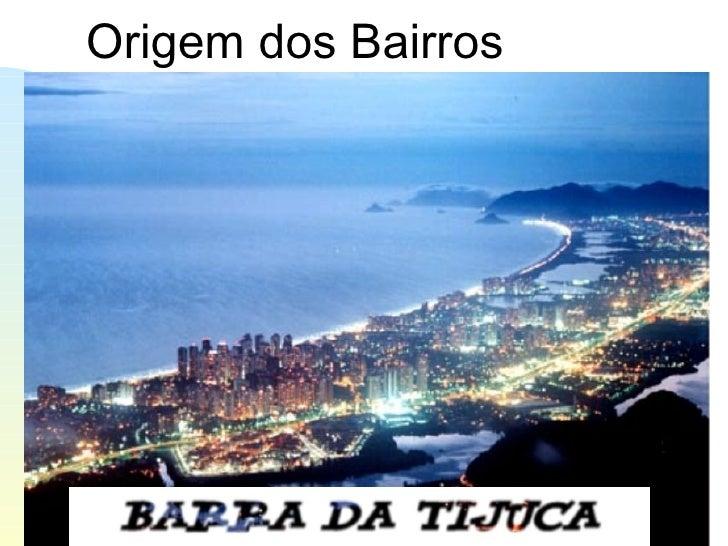Urbanização Barra da Tijuca