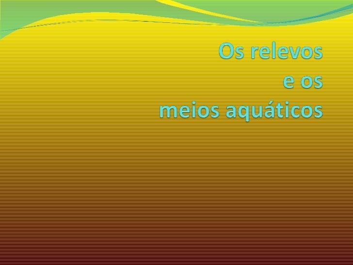 Relevo - Catarina