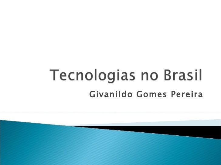 Givanildo Gomes Pereira