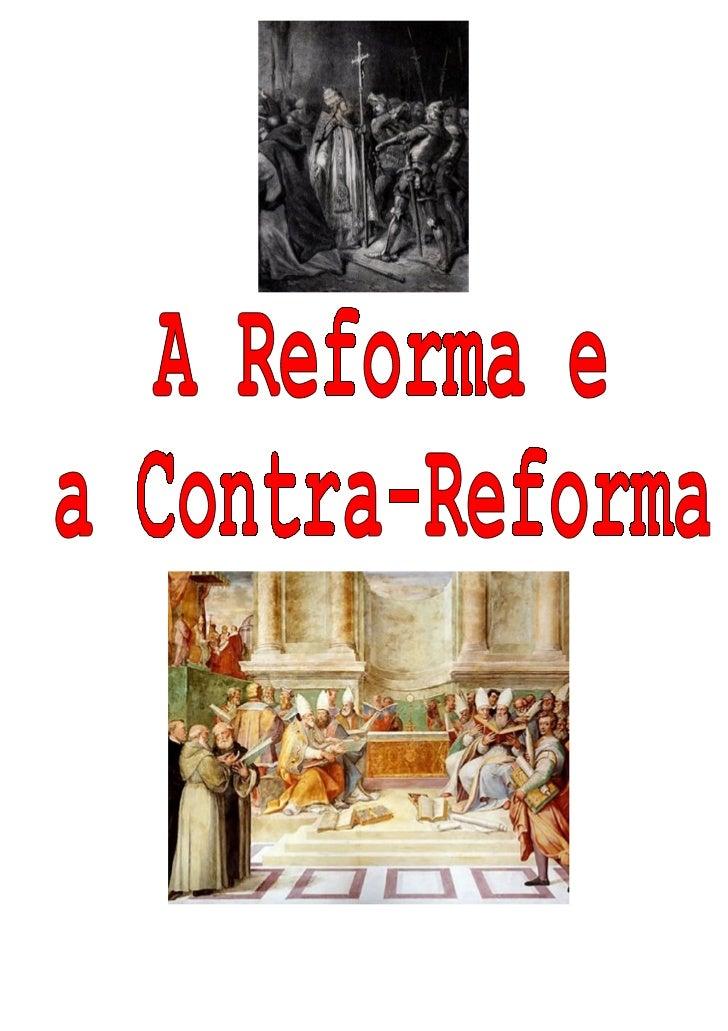 ÍNDICECAPAÍNDICE:   Introdução   •      I. O que é a Reforma?   •      II. Quais os seus objectivos?   •      III. Que fac...