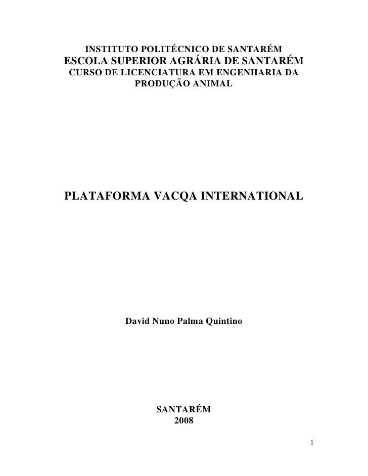 Plataforma Online VACQA International