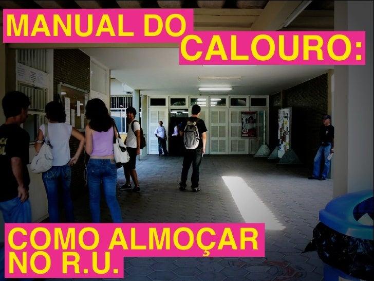 Manual do Calouro - RU