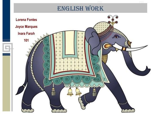 English Work Lorena Fontes Joyce Marques Inara Farah 101
