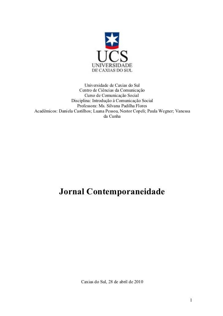 Jornal Contemporâneo
