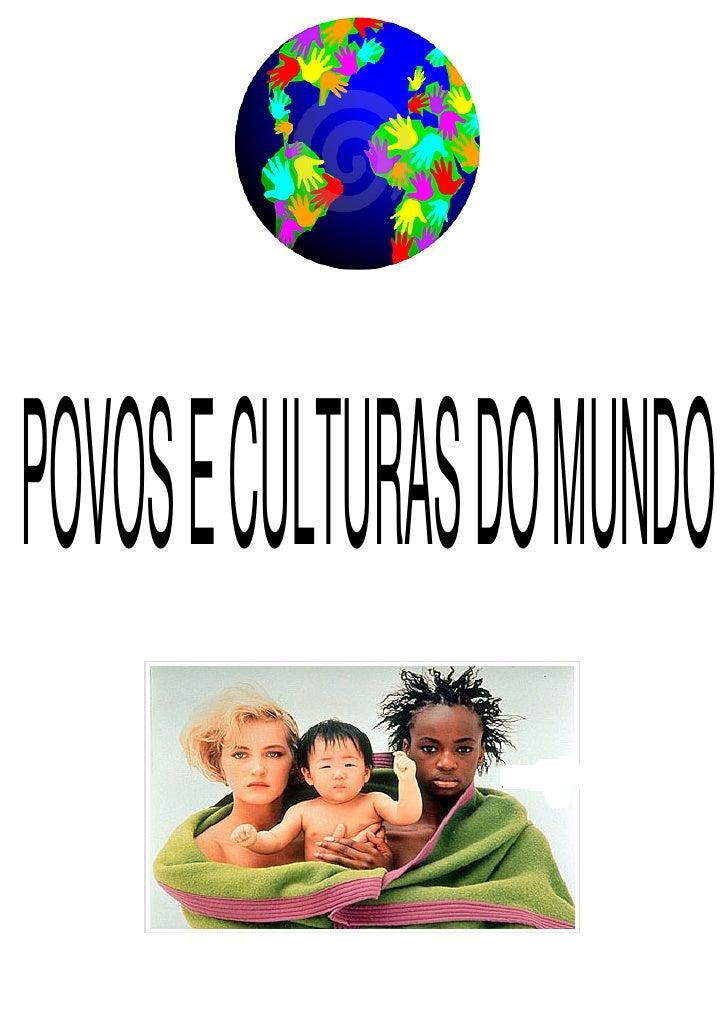POVOS E CULTURAS DO MUNDO