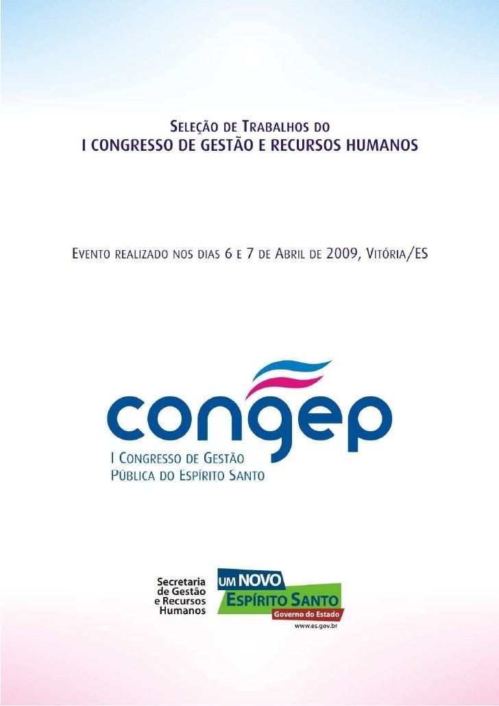 Trabalhos Congep 2009