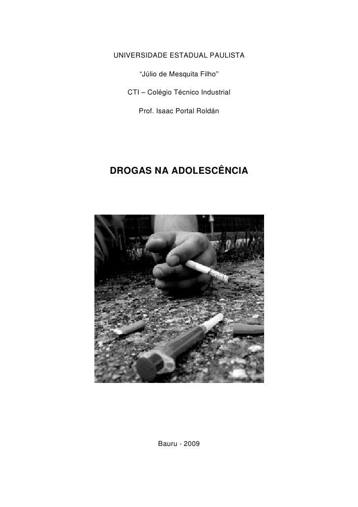 "UNIVERSIDADE ESTADUAL PAULISTA        ""Júlio de Mesquita Filho""     CTI – Colégio Técnico Industrial        Prof. Isaac Po..."