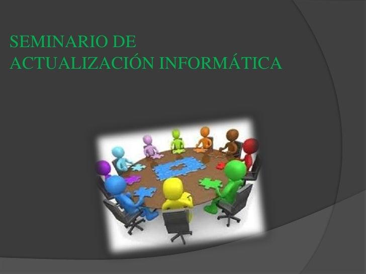 seminario investigativo
