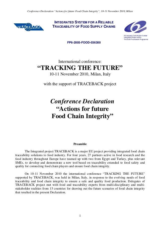 Traceback conference declaration v7