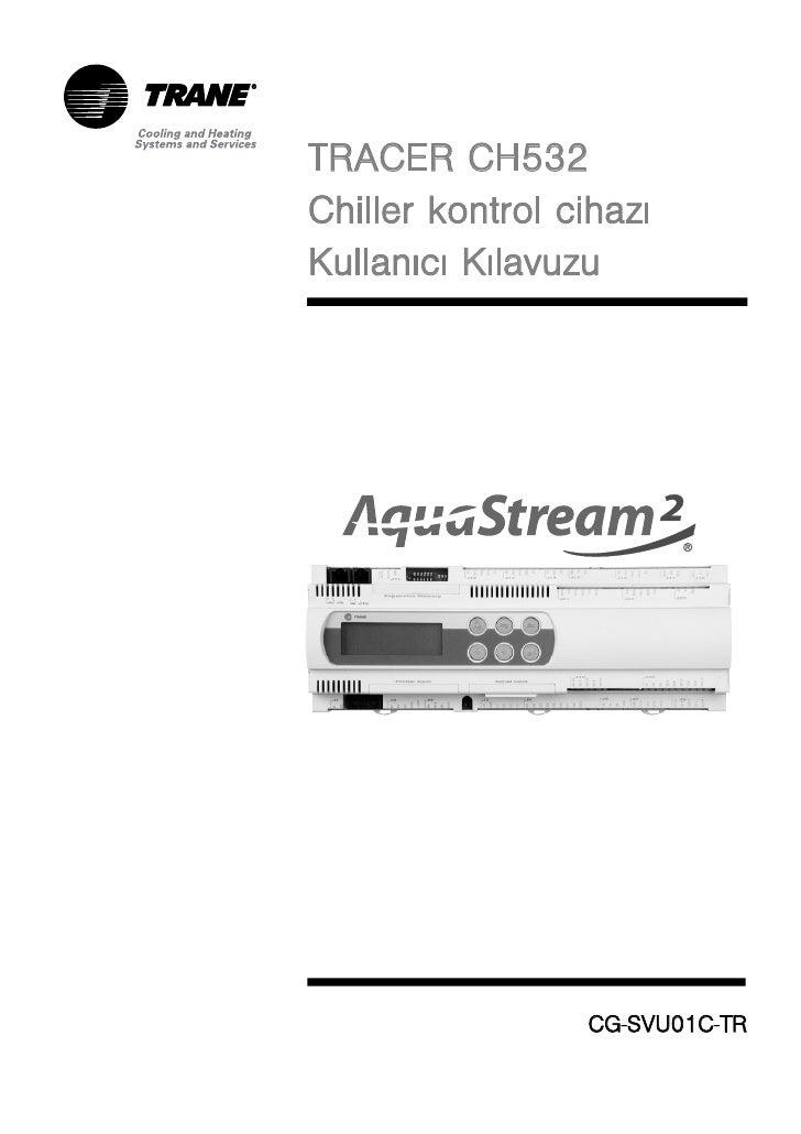 TRACER CH532Chiller kontrol cihazýKullanýcý Kýlavuzu                 CG-SVU01C-TR                    S      T