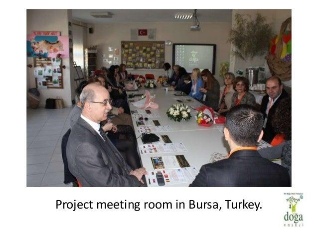 Project meeting room in Bursa, Turkey.