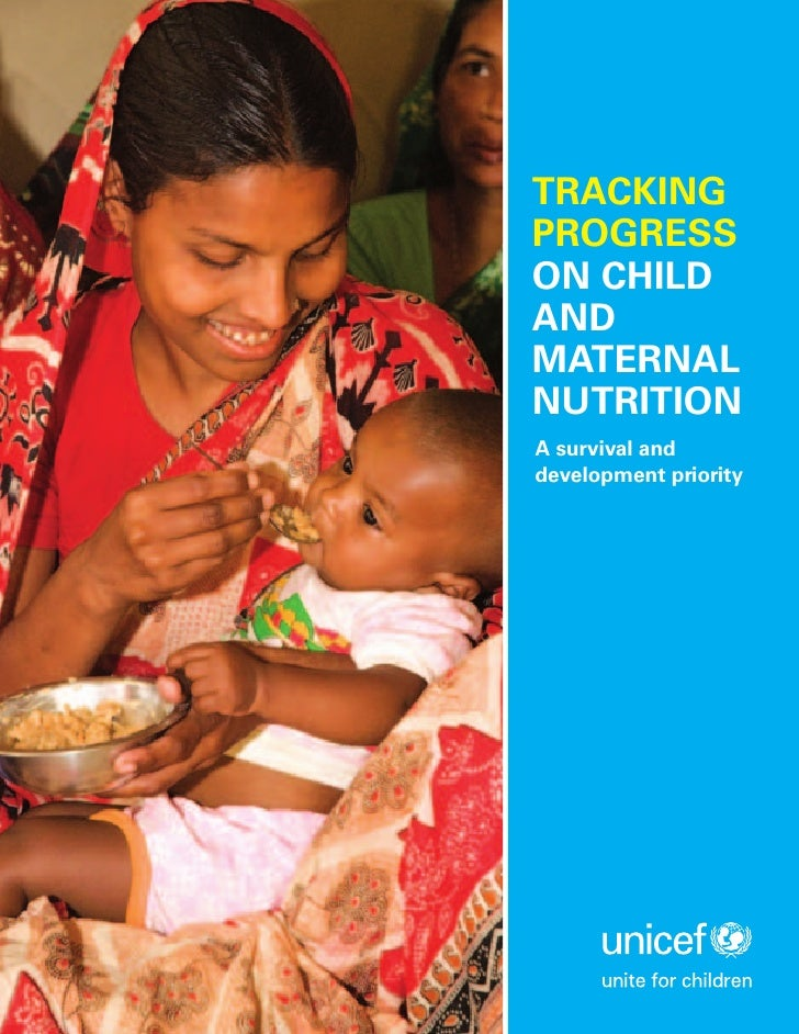 Tracking  Progress On  Child And  Maternal  Nutrition  E N 110309