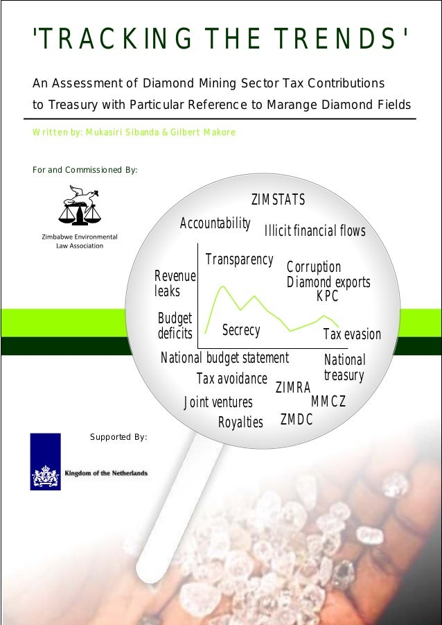 An Assessment of Diamond Mining Sector Tax Contributions to Treasury with Particular Reference to Marange Diamond Fields '...