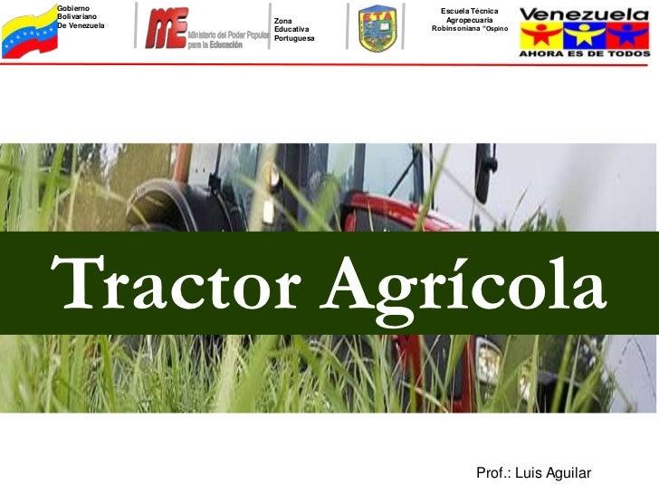 Tractor agricolas y las partes internas del motor