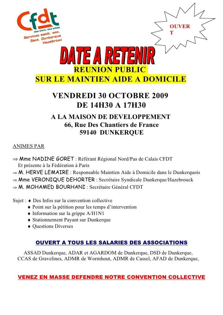 Tract RéUnion Public Mad Du 30 Octobre 2009