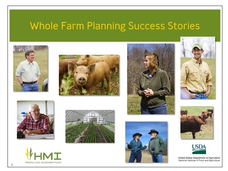 Whole Farm Planning Success Stories by Tracy Favre